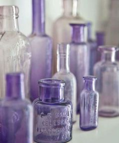 glass-bottles-shades-of-purple