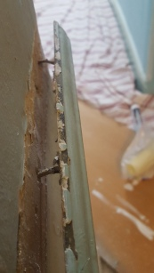 Removing Dado Rail (Wall Moulding)
