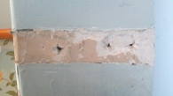 Wall following dado removal