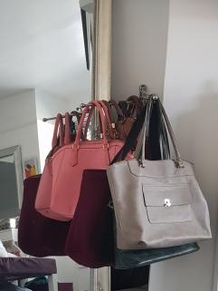 Voxnan towel holder/ handbag holder